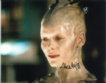 "Alice Krige ""Borg Queen"" Star Trek: First Contact, Genuine Signed Autograph 10x8 3854"